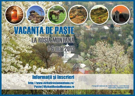 Vacanta de Paste 2013 la Rosia Montana